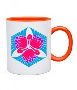 Чашка Кельтский узор Вариант №12