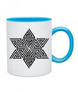 Чашка Кельтский узор Вариант №4