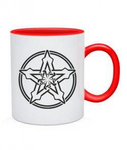 Чашка Кельтский узор Вариант №5