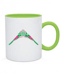 Чашка Кельтский узор Вариант №6
