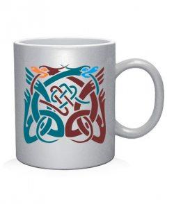 Чашка арт Кельтский узор Вариант №8