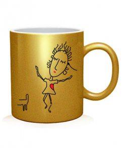 Чашка арт Влюбленная парочка №2 (для нее)
