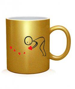 Чашка арт Влюбленная парочка №4 (для него)