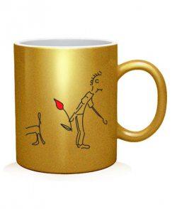 Чашка арт Влюбленная парочка (для него)