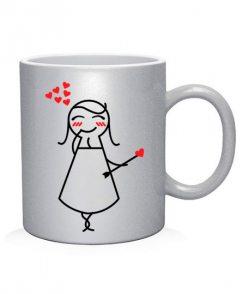 Чашка арт Влюбленные (для нее)