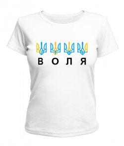 Женская футболка Воля
