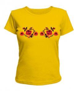 Женская футболка Вышиванка Вариант №4