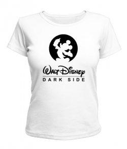Женская футболка Walt Disney-dark side!