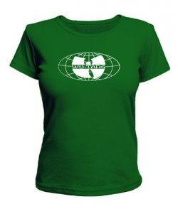 Женская футболка Wu-Tang