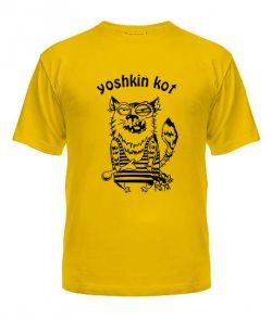 Мужская Футболка Yoshkin kot