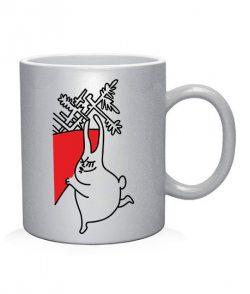 Чашка арт Зайчики (для нее)