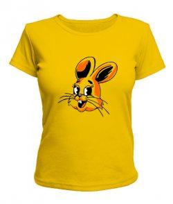 Женская футболка Заяц-Ну погоди!
