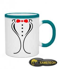 Чашка хамелеон Жених