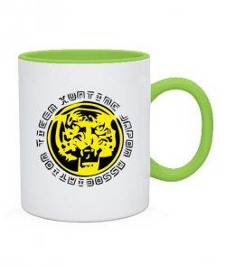Чашка Значек тигра