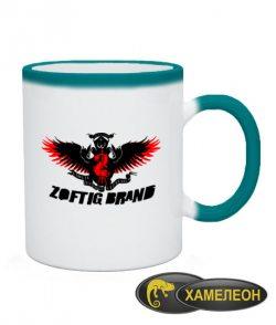 Чашка хамелеон Зофтиг бренд