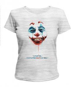 Женская футболка Джокер №1