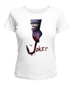 Женская футболка Джокер №2