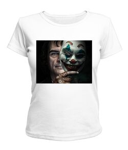 Женская футболка Джокер №3