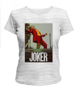 Женская футболка Джокер №5