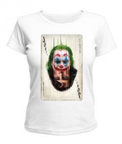 Женская футболка Джокер №7