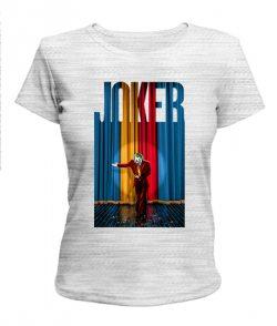 Женская футболка Джокер №8