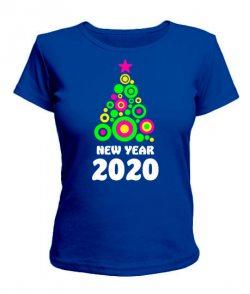 Женская футболка New Year 2020