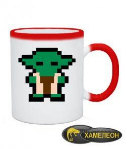Чашка хамелеон Star Wars Baby Yoda (Йода)
