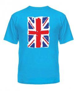 Мужская Футболка Британский флаг2