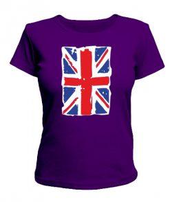 Женская футболка Британский флаг2