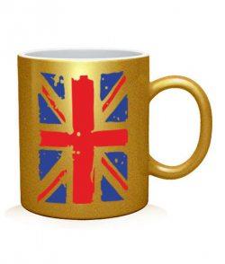 Чашка арт Британский флаг2