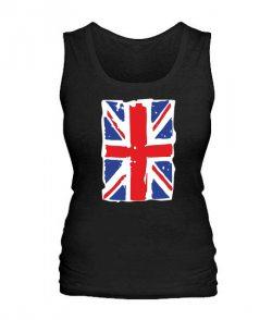 Женская майка Британский флаг2
