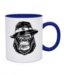 Чашка Горилла в шляпе