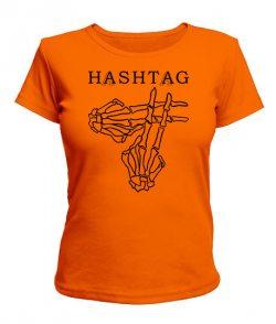 Женская футболка HASHTAG