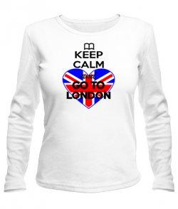 Женский лонгслив Лондон 2