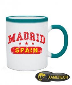 Чашка хамелеон Мадрид
