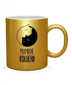 Чашка арт Мамине Кошеня