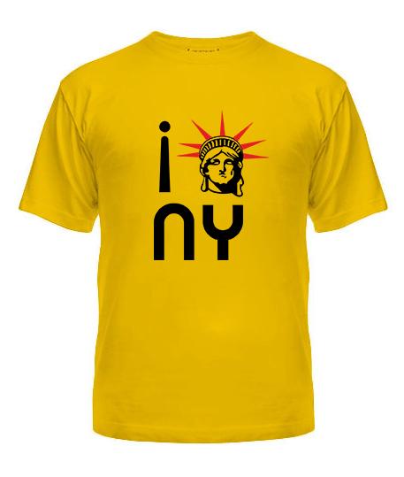 Мужская Футболка Нью-Йорк 2 (NY)