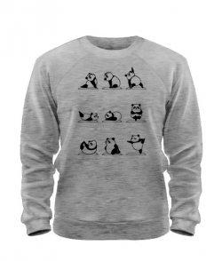 Свитшот Панда Йога (Panda)