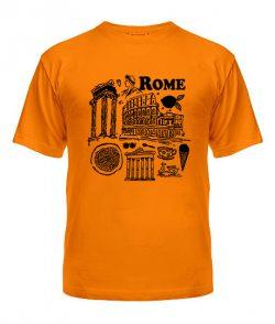 Мужская Футболка Рим