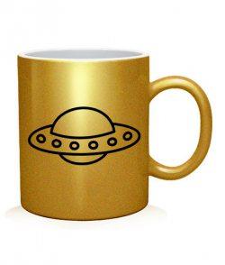Чашка арт UFO