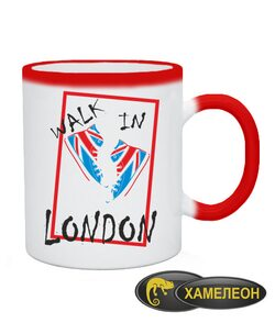 Чашка хамелеон Лондон
