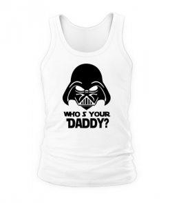 Мужская майка Кто твой Папа (Star Wars)