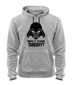 Толстовка Кто твой Папа (Star Wars)