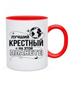 Чашка Лучший крестный на этой планете