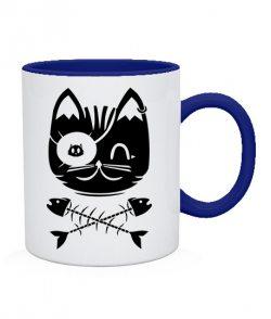 Чашка Кот Пират