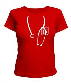 Женская футболка Я Доктор