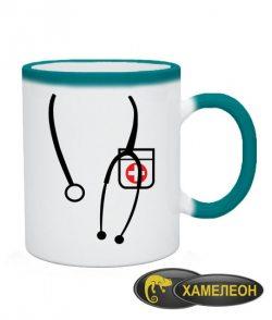 Чашка хамелеон Я Доктор