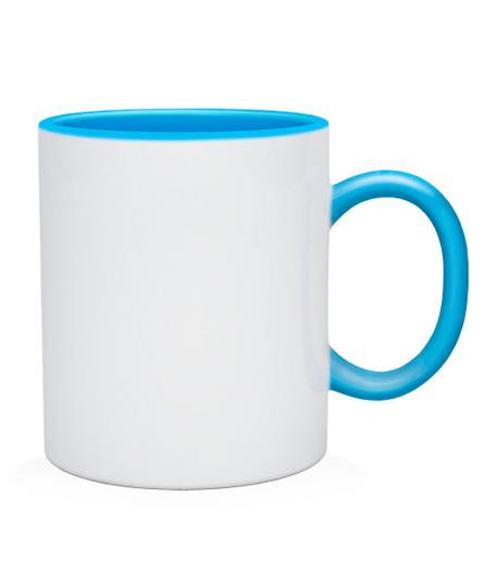 Чашка Без рисунка (цвета в ассортименте)
