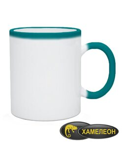 Чашка хамелеон Без рисунка (цвета в ассортименте)