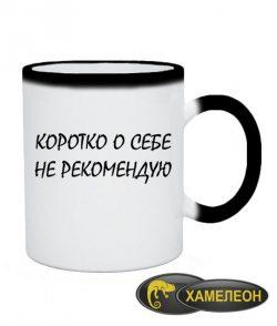 Чашка хамелеон Не Рекомендую